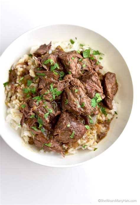 easy stew beef and rice recipe wears many hats