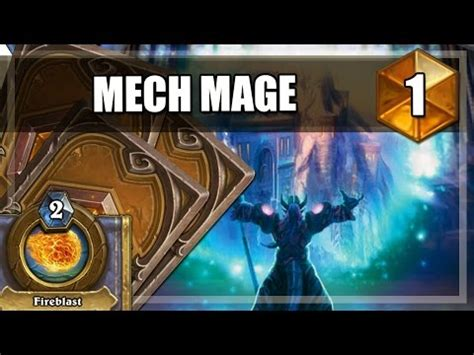 Strifecro Decks Tempo Mage by Hearthstone High Ranking Mech Mage Deck Guide Doovi