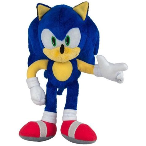 Sonic The Hedgehog Sonic 12-Inch Deluxe Plush : Target