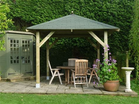 gazebo wooden tourist wooden gazebo 3 4m x 3 4m timber garden canopy