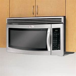 Whirlpool Over The Range Microwave 1 8 Cu  Ft  Gh5184xp