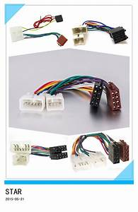China Iso Car Radio Stereo Cable Wire Harness Adapter