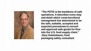 Food Packaging Safety  How To Write A Guide To Meet Harpc