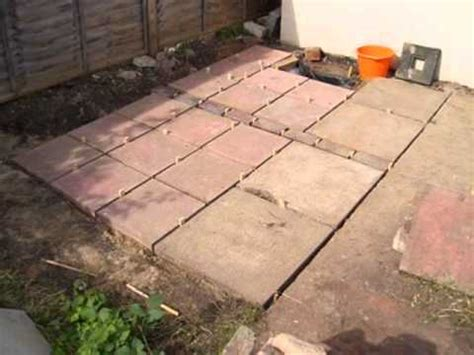 Patio Blocks by How To Lay A Patio