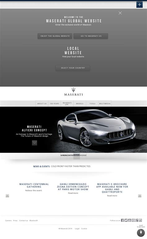 Maserati Website by Maserati Competitors Revenue And Employees Owler