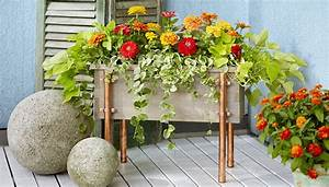 Copper And Cedar Planter