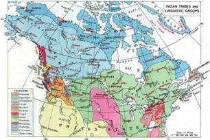 Canada First Nations Map