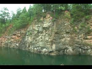 Rock Quarry Cliff Jumping