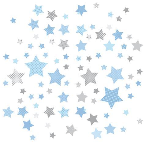 Wandtattoo Kinderzimmer Sterne by Dinki Balloon Kinderzimmer Wandsticker Sterne Blau Grau 68