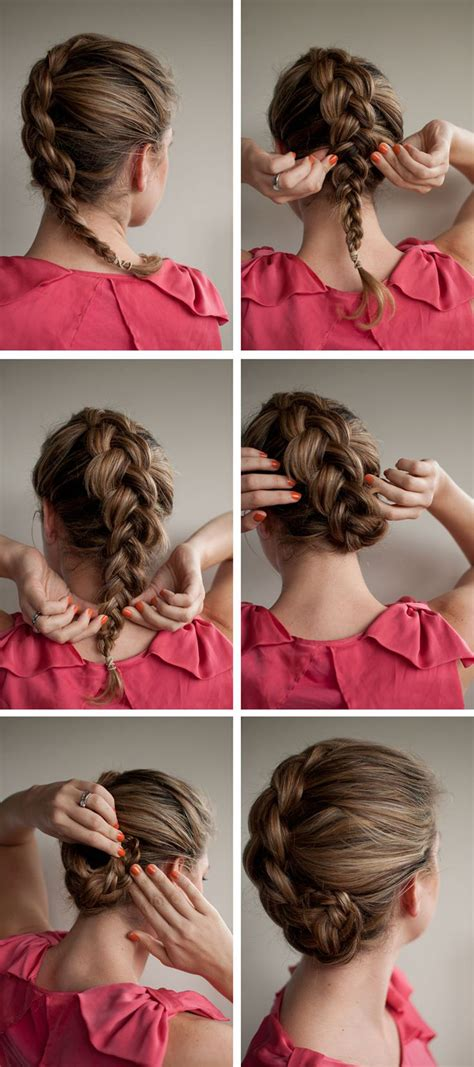 Easy Step By Step Tutorials On How To Do Braided Hairstyle