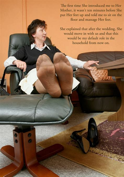 Foot Worship Female Slave