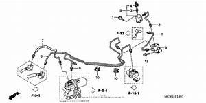 Proportioning Control Valve  Abs  For 2002 Honda Vfr800