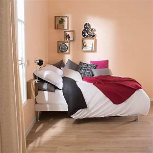 Cadre à Lattes : quels pieds de lit pour un cadre lattes blog but ~ Teatrodelosmanantiales.com Idées de Décoration