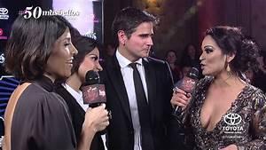 Maite Perroni y Daniel Arenas en Los 50 más bellos 2014 de ...