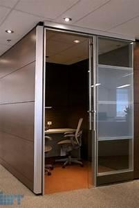 Frameless, Glass, Sliding, Doors, For, Modular, Office, Partitions