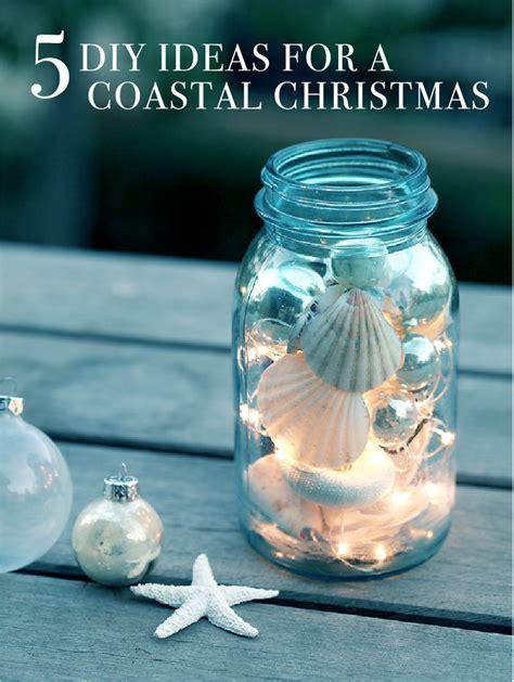 5 diy ideas for a coastal christmas sea and ocean beach