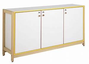 Meuble Bas 3 Portes : dpc maternelle meuble bas 3 portes battantes pi tement bois ~ Teatrodelosmanantiales.com Idées de Décoration