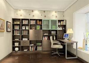 Study, Room, Design, Inspirations, For, Stylishly, Organized, Area, -, Household, Tips