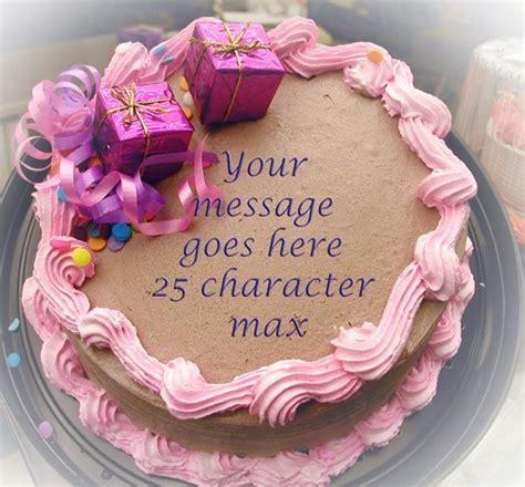 Personalized Birthday Cake Images Photo Gallery Custom Birthday Cake Photo