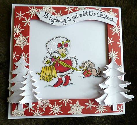 Handmade Christmas Cards, Tags And Project Ideas