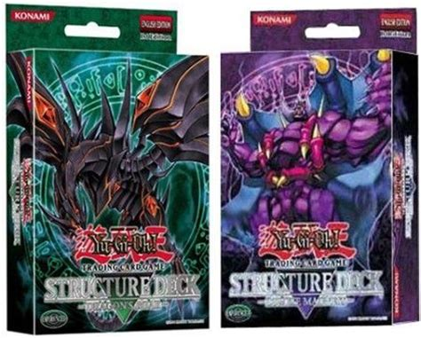 Structure Deck Dragon's Roar & Zombie Madness Box Of 10