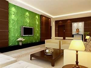 3d Wandpaneele Schlafzimmer : tv wandpaneel 35 ultra moderne vorschl ge ~ Michelbontemps.com Haus und Dekorationen