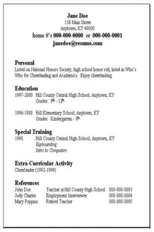 17532 simple resume format basic sle resume jennywashere