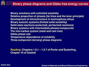 Ppt - Binary Phase Diagrams Powerpoint Presentation