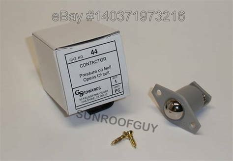 Edwards Roller Ball Contact Switch Door Jamb Low
