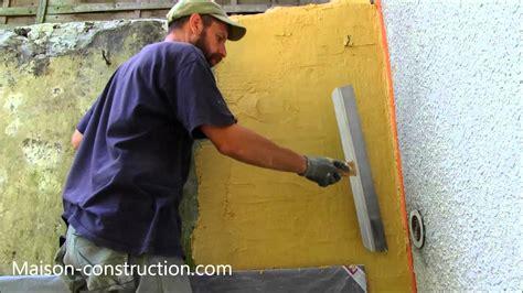 comment enduire un mur exterieur