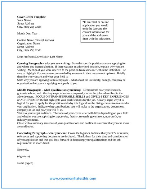 Cover Letter by Cover Letter Sles