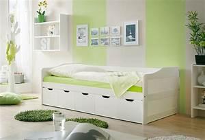 Bett Hochglanz Weiß 90x200 : sofabett 90x200 kojenbett g stebett funktionsbett real ~ Markanthonyermac.com Haus und Dekorationen