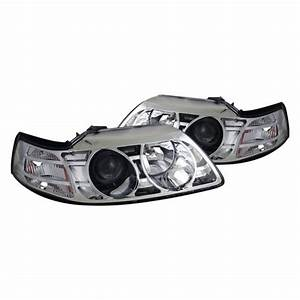 CG® - Ford Mustang 2000 Chrome Projector Headlights