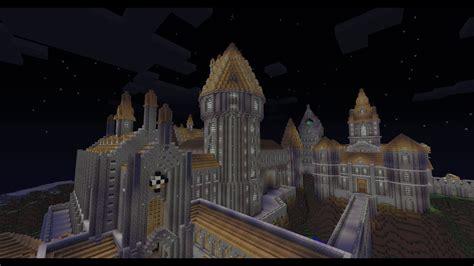minecraft hogwarts castle  youtube