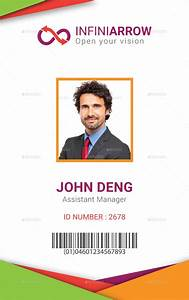 Employee id card template beepmunk for Business id card template
