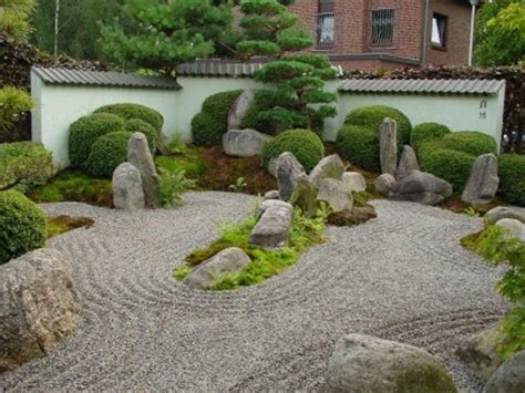 Zen Garten  Garten Einebinsenweisheit