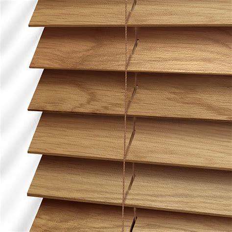 Wooden Blinds by Wooden Blinds Beautiful Oak Wood Blind