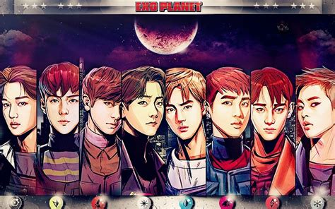 Exo Anime Wallpaper - wallpaper on exo xiumin deviantart