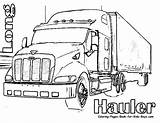 Truck Dump Coloring Pages sketch template
