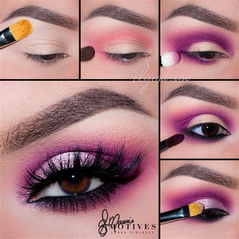 pretty pink makeup