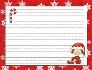 Christmas Writing Paper Templates