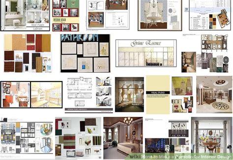 How To Make A Portfolio For Interior Design