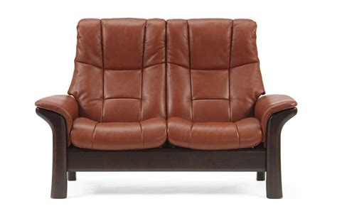 High Back Reclining Sofa by Stressless Stressless 1195020 High Back Reclining