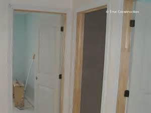 installation thermique cadre de porte seulement