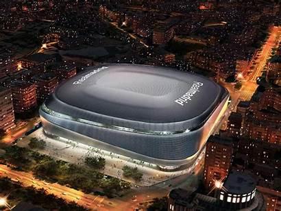 Madrid Stadium Football Bernabeu Santiago Plans Pes