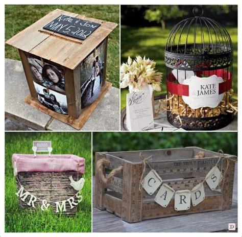 urne mariage retro vintage boite bois photo cage ancienne
