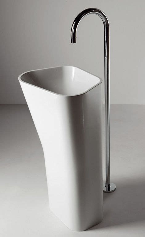 Modern Freestanding Bathroom Sinks by Free Standing Sinks From Kos Lab01 And Lab02 Floor Mount