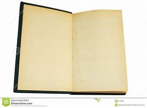 Blank Vintage Book Stock Photo - Image: 570960