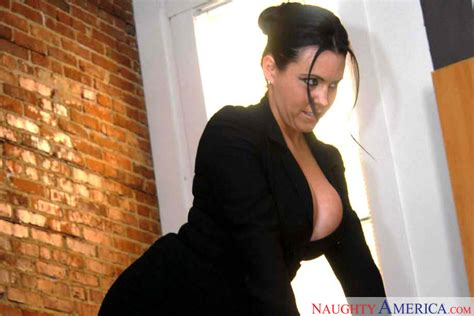 Professor Angelica Sin Fucking In The Desk With Her Tits