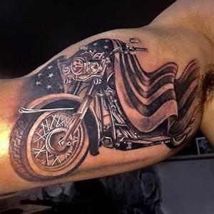 Harley Davidson Tattoo | Tattoo's | Pinterest | Harley ...